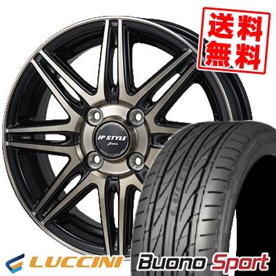 205/45R16 LUCCINI ルッチーニ Buono Sport ヴォーノ スポーツ JP STYLE JERIVA JPスタイル ジェリバ サマータイヤホイール4本セット