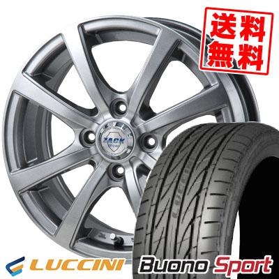165/55R14 72V LUCCINI ルッチーニ Buono Sport ヴォーノ スポーツ ZACK JP-110 ザック JP110 サマータイヤホイール4本セット