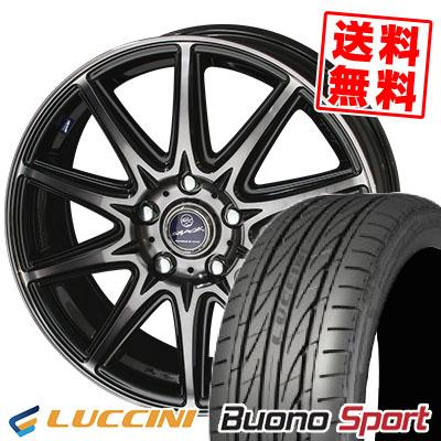 215/40R18 LUCCINI ルッチーニ Buono Sport ヴォーノ スポーツ SMACK LAVINE スマック ラヴィーネ サマータイヤホイール4本セット