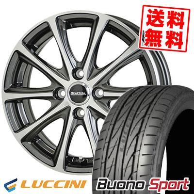 205/40R17 84W XL LUCCINI ルッチーニ Buono Sport ヴォーノ スポーツ Laffite LE-04 ラフィット LE-04 サマータイヤホイール4本セット