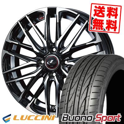 165/55R15 75V LUCCINI ルッチーニ Buono Sport ヴォーノ スポーツ WEDS LEONIS SK ウェッズ レオニスSK サマータイヤホイール4本セット