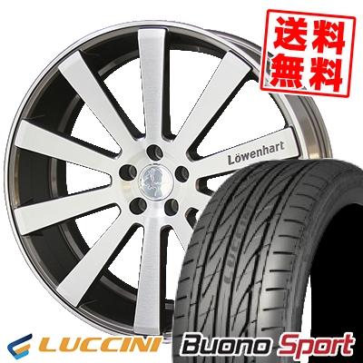 245/30R22 LUCCINI ルッチーニ Buono Sport ヴォーノ スポーツ Lowenhart LW10 レーベンハート LW10 サマータイヤホイール4本セット