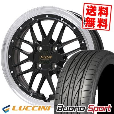 195/45R16 LUCCINI ルッチーニ Buono Sport ヴォーノ スポーツ Leycross REZERVA レイクロス レゼルヴァ サマータイヤホイール4本セット