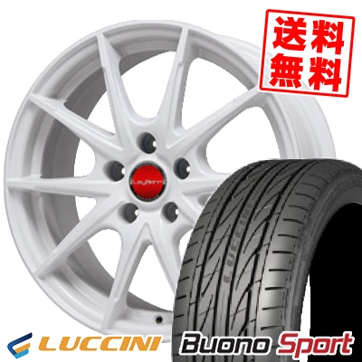 235/40R18 LUCCINI ルッチーニ Buono Sport ヴォーノ スポーツ LeyBahn WGS レイバーン WGS サマータイヤホイール4本セット
