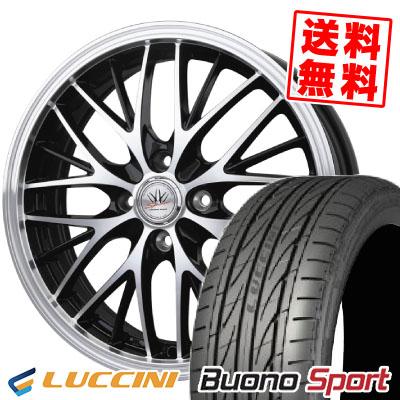 165/55R14 72V LUCCINI ルッチーニ Buono Sport ヴォーノ スポーツ BADX LOXARNY SPORT MW-8 バドックス ロクサーニスポーツ MW-8 サマータイヤホイール4本セット