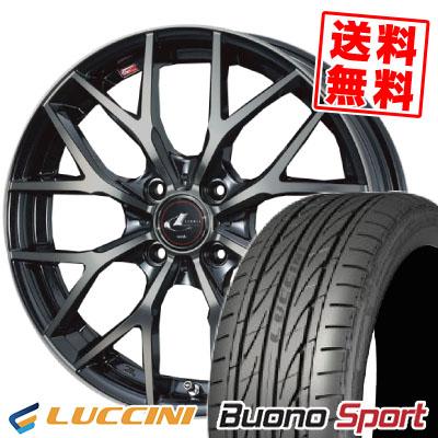 205/45R16 87V XL LUCCINI ルッチーニ Buono Sport ヴォーノ スポーツ weds LEONIS MX ウェッズ レオニス MX サマータイヤホイール4本セット