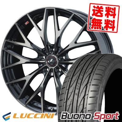 215/55R16 97V XL LUCCINI ルッチーニ Buono Sport ヴォーノ スポーツ weds LEONIS MX ウェッズ レオニス MX サマータイヤホイール4本セット