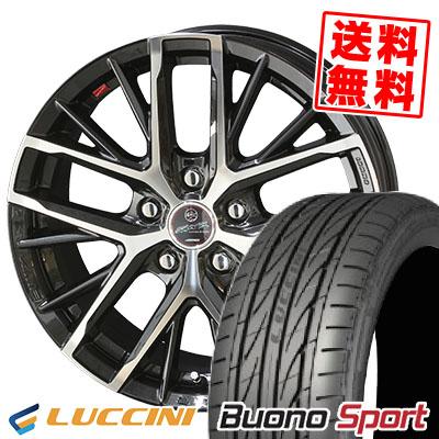 235/40R18 95W XL LUCCINI ルッチーニ Buono Sport ヴォーノ スポーツ SMACK REVILA スマック レヴィラ サマータイヤホイール4本セット