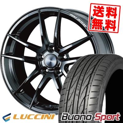 215/40R18 89W XL LUCCINI ルッチーニ Buono Sport ヴォーノ スポーツ WedsSport RN-55M ウェッズスポーツ RN-55M サマータイヤホイール4本セット【取付対象】