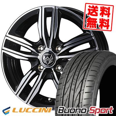 165/55R14 72V LUCCINI ルッチーニ Buono Sport ヴォーノ スポーツ WEDS RIZLEY DS ウェッズ ライツレー DS サマータイヤホイール4本セット