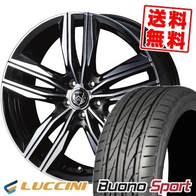 215/40R18 89W XL LUCCINI ルッチーニ Buono Sport ヴォーノ スポーツ WEDS RIZLEY DS ウェッズ ライツレー DS サマータイヤホイール4本セット