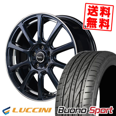 235/40R18 95W XL LUCCINI ルッチーニ Buono Sport ヴォーノ スポーツ Rapid Performance ZX10 ラピッド パフォーマンス ZX10 サマータイヤホイール4本セット