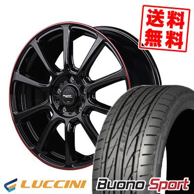 215/40R18 89W XL LUCCINI ルッチーニ Buono Sport ヴォーノ スポーツ Rapid Performance ZX10 ラピッド パフォーマンス ZX10 サマータイヤホイール4本セット