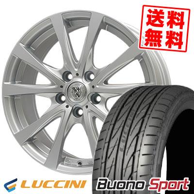 205/50R17 93W XL LUCCINI ルッチーニ Buono Sport ヴォーノ スポーツ TRG-SILBAHN TRG シルバーン サマータイヤホイール4本セット