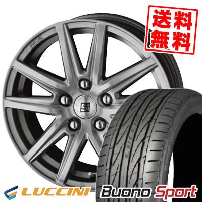 215/55R16 97V XL LUCCINI ルッチーニ Buono Sport ヴォーノ スポーツ SEIN SS ザイン エスエス サマータイヤホイール4本セット