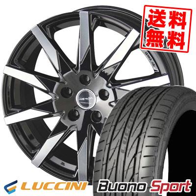205/50R17 93W XL LUCCINI ルッチーニ Buono Sport ヴォーノ スポーツ SMACK SFIDA スマック スフィーダ サマータイヤホイール4本セット
