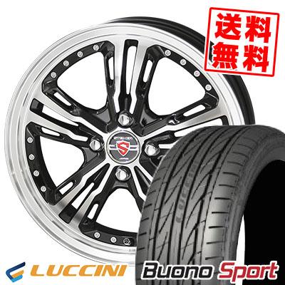 195/45R16 84V XL LUCCINI ルッチーニ Buono Sport ヴォーノ スポーツ STEINER LST シュタイナー LST サマータイヤホイール4本セット
