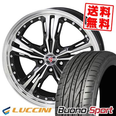 215/40R18 89W XL LUCCINI ルッチーニ Buono Sport ヴォーノ スポーツ STEINER LST シュタイナー LST サマータイヤホイール4本セット