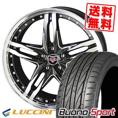 215/40R18 89W XL LUCCINI ルッチーニ Buono Sport ヴォーノ スポーツ STEINER LSV シュタイナー LSV サマータイヤホイール4本セット