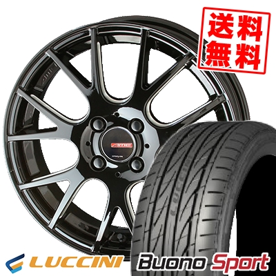 165/50R15 72V LUCCINI ルッチーニ Buono Sport ヴォーノ スポーツ CIRCLAR RM-7 サーキュラー RM-7 サマータイヤホイール4本セット