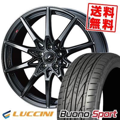 225/45R17 94V XL LUCCINI ルッチーニ Buono Sport ヴォーノ スポーツ weds LEONIS SV ウェッズ レオニス SV サマータイヤホイール4本セット