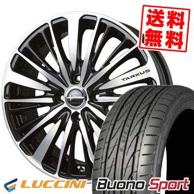 165/50R15 72V LUCCINI ルッチーニ Buono Sport ヴォーノ スポーツ BADX LOXARNY TARKUS バドックス ロクサーニ タルカス サマータイヤホイール4本セット