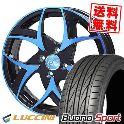 165/50R15 LUCCINI ルッチーニ Buono Sport ヴォーノ スポーツ Cliff Climb TC-05 クリフクライム TC-05 サマータイヤホイール4本セット
