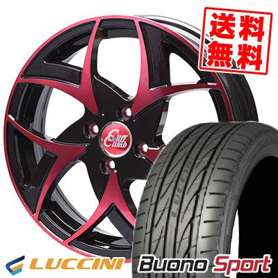 165/55R15 LUCCINI ルッチーニ Buono Sport ヴォーノ スポーツ Cliff Climb TC-05 クリフクライム TC-05 サマータイヤホイール4本セット