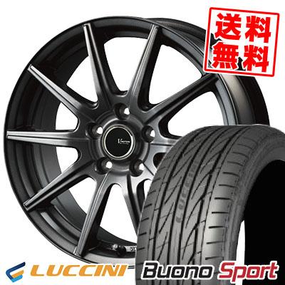 215/55R16 97V XL LUCCINI ルッチーニ Buono Sport ヴォーノ スポーツ V-EMOTION GS10 Vエモーション GS10 サマータイヤホイール4本セット【取付対象】