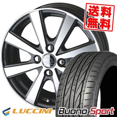 205/45R16 87V XL LUCCINI ルッチーニ Buono Sport ヴォーノ スポーツ SMACK VIR スマック VI-R サマータイヤホイール4本セット