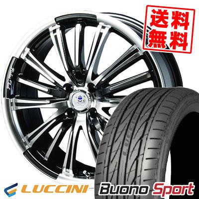 165/55R15 75V LUCCINI ルッチーニ Buono Sport ヴォーノ スポーツ BAHNS TECK VR-01 バーンズテック VR01 サマータイヤホイール4本セット