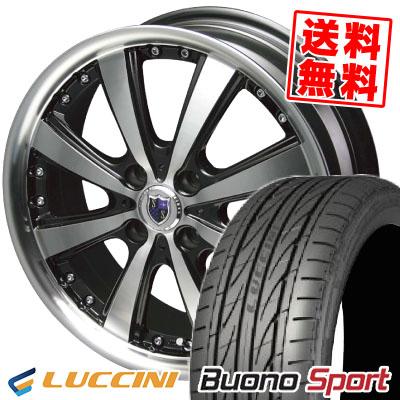 195/45R16 84V XL LUCCINI ルッチーニ Buono Sport ヴォーノ スポーツ STEINER VS-5 シュタイナー VS5 サマータイヤホイール4本セット