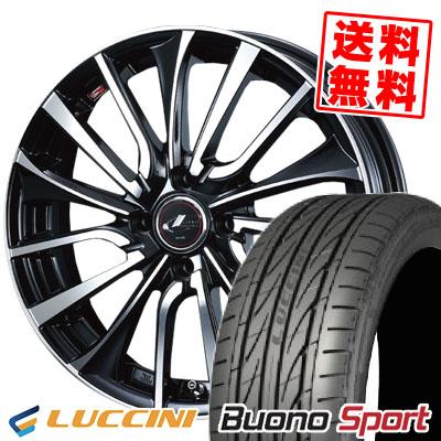 205/40R17 84W XL LUCCINI ルッチーニ Buono Sport ヴォーノ スポーツ weds LEONIS VT ウエッズ レオニス VT サマータイヤホイール4本セット