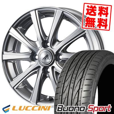 165/55R14 72V LUCCINI ルッチーニ Buono Sport ヴォーノ スポーツ AZ sports YL-10 AZスポーツ YL-10 サマータイヤホイール4本セット