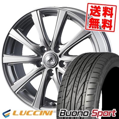 215/40R18 89W XL LUCCINI ルッチーニ Buono Sport ヴォーノ スポーツ AZ sports YL-10 AZスポーツ YL-10 サマータイヤホイール4本セット