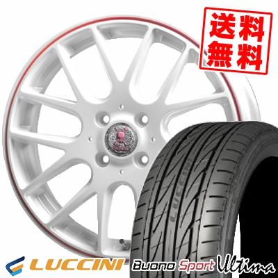 165/40R16 73V XL LUCCINI ルッチーニ Buono Ultima ヴォーノ ウルティマ Roen RT-M ロエン RT-M サマータイヤホイール4本セット