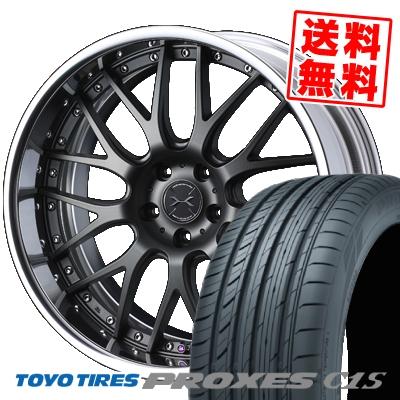 215/45R18 93W TOYO TIRES トーヨー タイヤ PROXES C1S プロクセス C1S weds MAVERICK 709M ウエッズ マーべリック 709M サマータイヤホイール4本セット