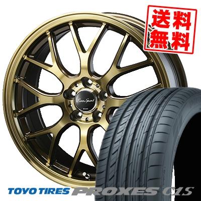 ファッションなデザイン 215/45R18 TOYO TIRES トーヨー タイヤ PROXES TOYO C1S プロクセス TIRES プロクセス C1S Eouro Sport Type 805 ユーロスポーツ タイプ805 サマータイヤホイール4本セット:タイヤプライス館, アート商会:74170fbd --- agent.gopremierone.com