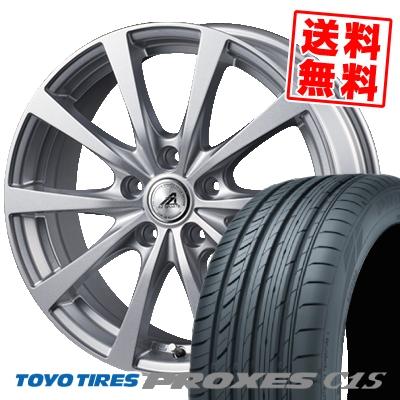 205/55R16 94W TOYO TIRES トーヨー タイヤ PROXES C1S プロクセス C1S AZ SPORTS EX10 AZスポーツ EX10 サマータイヤホイール4本セット【取付対象】