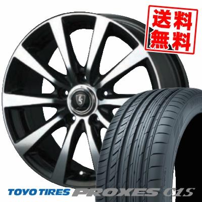 195/65R15 91V TOYO TIRES トーヨー タイヤ PROXES C1S プロクセス C1S EUROSPEED BL10 ユーロスピード BL10 サマータイヤホイール4本セット
