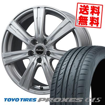 215/65R15 96V TOYO TIRES トーヨー タイヤ PROXES C1S プロクセス C1S EuroSpeed C-07 ユーロスピード C-07 サマータイヤホイール4本セット