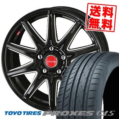 225/50R16 96W TOYO TIRES トーヨー タイヤ PROXES C1S プロクセスC1S RIVAZZA CORSE リヴァッツァ コルセ サマータイヤホイール4本セット