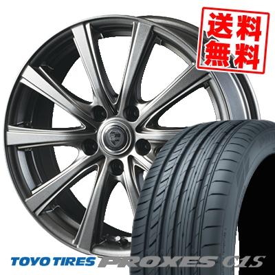 225/50R16 96W TOYO TIRES トーヨー タイヤ PROXES C1S プロクセスC1S CLAIRE DG10 クレール DG10 サマータイヤホイール4本セット