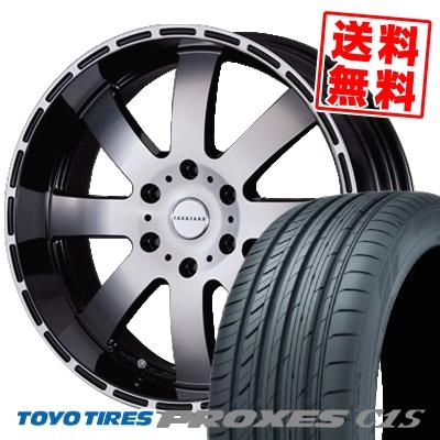 225/50R18 TOYO TIRES トーヨー タイヤ PROXES C1S プロクセスC1S Reverson DR8 レベルソン DR8 サマータイヤホイール4本セット for 200系ハイエース