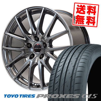215/60R16 95W TOYO TIRES トーヨー タイヤ PROXES C1S プロクセス C1S VERTEC ONE Eins.1 ヴァーテック ワン アインス ワン サマータイヤホイール4本セット