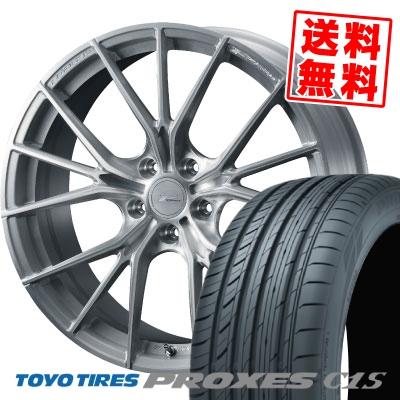 245/40R19 98W TOYO TIRES トーヨー タイヤ PROXES C1S プロクセスC1S WEDS F ZERO FZ-1 ウェッズ エフゼロ FZ-1 サマータイヤホイール4本セット