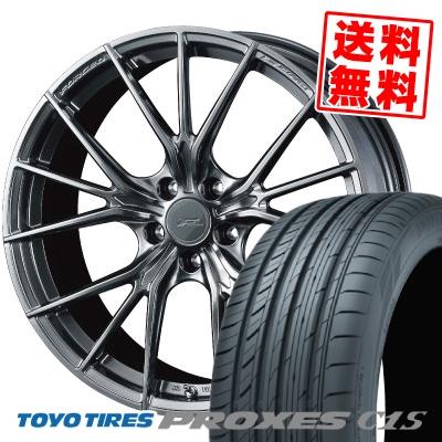 225/40R18 92W TOYO TIRES トーヨー タイヤ PROXES C1S プロクセスC1S WEDS F ZERO FZ-1 ウェッズ エフゼロ FZ-1 サマータイヤホイール4本セット