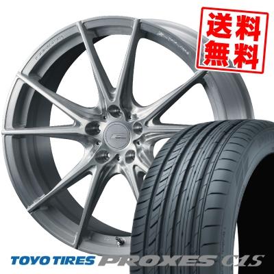 255/30R21 93W TOYO TIRES トーヨー タイヤ PROXES C1S プロクセスC1S WEDS F ZERO FZ-2 ウェッズ エフゼロ FZ-2 サマータイヤホイール4本セット