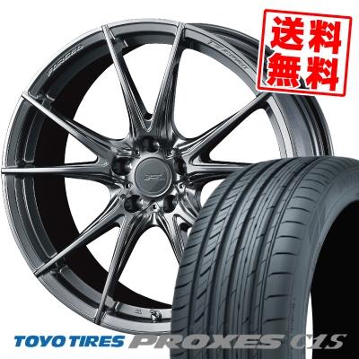 245/35R21 96W TOYO TIRES トーヨー タイヤ PROXES C1S プロクセスC1S WEDS F ZERO FZ-2 ウェッズ エフゼロ FZ-2 サマータイヤホイール4本セット