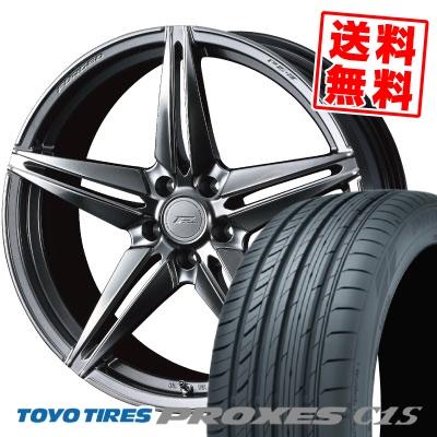 245/35R20 95W TOYO TIRES トーヨー タイヤ PROXES C1S プロクセスC1S WEDS F ZERO FZ-3 ウェッズ エフゼロ FZ-3 サマータイヤホイール4本セット